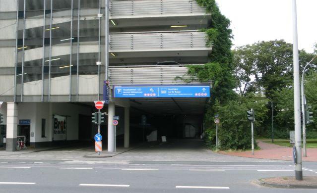 Parkhaus Hauptbahnhof P2 Uci Parken In Duisburg