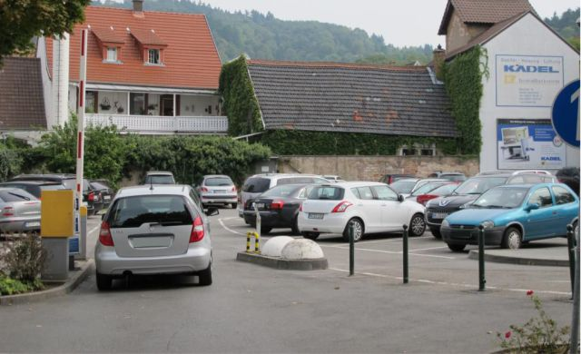 Parkplatz Institutstrasse in Weinheim